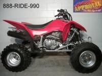 2013 Honda TRX400 ATV for sale with 25 hours, fresh!