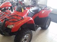 THIS 2013 HONDA TRX420 RANCHER IS THE PERFECT LITTLE