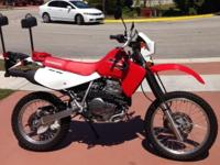 2013 HONDA XR650L DUAL SPORT With just 375 Miles In