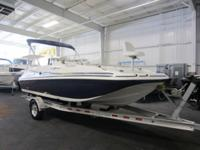 CLEAN 2013 HURRICANE 188 SUNDECK SPORT WITH ONLY 6