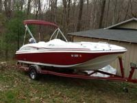 2013 typhoon sport deck boat 188/Ob includes Yamaha