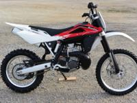 2013 Husqvarna WR300 2-Stroke Woods Bike ready for the