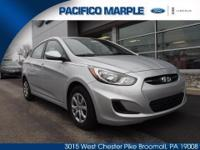 VERY NICE 2013 HYUNDAI ACCENT HAS VERY LOW MILES (ONLY
