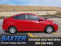 2013 Hyundai Accent 4dr Car GLS Our Location is: Baxter