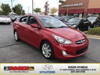 **HARD TO FIND** 2013 Hyundai Accent GLS with only