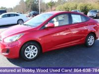 Come see this 2013 Hyundai Accent GLS. Its Automatic