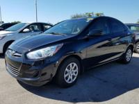 2013 Hyundai Accent GLS in Black, 10 year or 100,000