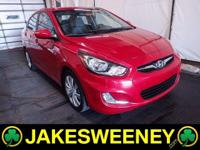Meet our sporty and economical 2013 Hyundai Accent GLS