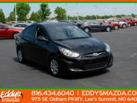 Check out this gently-used 2013 Hyundai Accent we