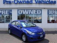 This 2013 Hyundai Accent GLS * ONE OWNER is proudly