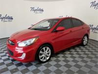 New Price! 2013 Hyundai Accent Red ** SERVICE RECORDS