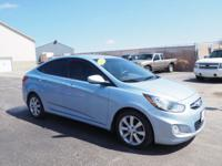 This 2013 Hyundai Accent GLS includes a braking assist,