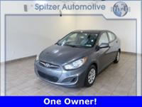 Hyundai Accent GLS CARFAX One-Owner. Priced below KBB