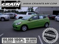 2013 HYUNDAI Accent Hatchback HATCHBACK 4 DOOR Our