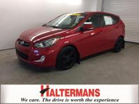 ALLOY WHEELS and TWO YEAR/100K WARRANTY. Accent SE,