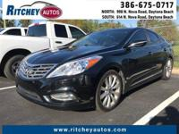 LOCALLY OWNED 2013 HYUNDAI AZERA**CLEAN CAR FAX**ONE