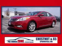 2013 Hyundai Azera AZERA in Venetian Red Pearl with