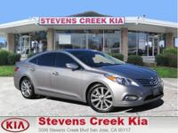 Options:  2013 Hyundai Azera Sedan|Silver|V6 3.3