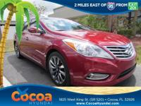 This 2013 Hyundai Azera in features: Recent Arrival!