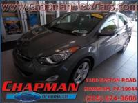 2013 Hyundai Elantra GLS. Stability and traction