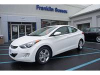 New Arrival! THIS ELANTRA IS CERTIFIED! CRUISE CONTROL.