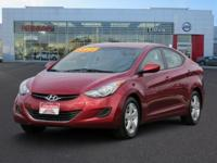 2013 HYUNDAI ELANTRA 4dr Car GLS Our Location is: