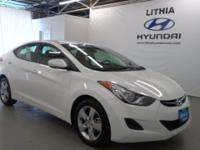 EPA 38 MPG Hwy/28 MPG City! CARFAX 1-Owner, Hyundai