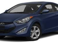 2013 Hyundai Elantra Coupe For Sale.Features:Front