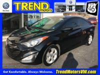 CARFAX One-Owner. Clean CARFAX. Black 2013 Hyundai