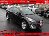 One Owner** and Alloy Wheels. Elantra GS, 2D Coupe,