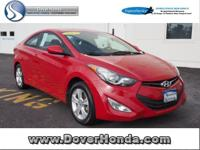 Carfax 1 Owner! Accident Free! 2013 Hyundai Elantra 2D