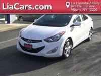 2013 Hyundai Elantra GS, Hands Free Bluetooth, and