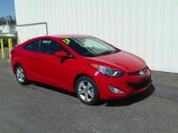 2013 HYUNDAI ELANTRA GS!! FWD, 2 DOOR COUPE, 1.8L,
