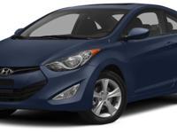 Options:  2013 Hyundai Elantra Gs|Miles: 139624Color: