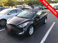 * ELANTRA COUPE GS PACKAGE* 1-OWNER CLEAN CARFAX* HEAT