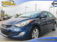 IMMACULATE 2013 HYUNDAI ELANTRA!! , LOW MILES!! , CLEAN