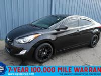 This outstanding example of a 2013 Hyundai Elantra GLS