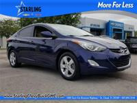 2013 Hyundai Elantra GLS, CLEAN CARFAX, ALLOY WHEELS,