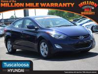 2013 Hyundai Elantra GLS FWD 6-Speed Automatic with