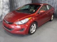 Venetian Red 2013 Hyundai Elantra GLS FWD 6-Speed