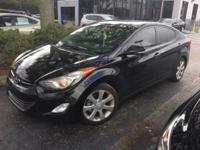 LOW MILE ELANTRA LIMITED! LEATHER, SUNROOF, PREMIUM