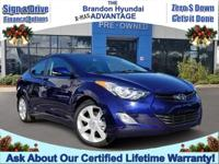 LOWEST MILE ELANTRA LIMITED! CERTIFIED LIFETIME
