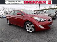 Elantra GLS, 6-Speed Automatic with Overdrive, and