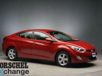 New tires!Red 2013 Hyundai Elantra GLS CARFAX