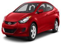 Options:  2013 Hyundai Elantra Gls|For Internet Pricing