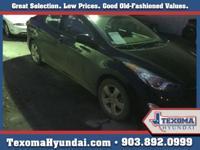 1 Owner Clean Car-Fax Blue Tooth Texoma Hyundai has a