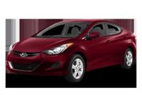 This 2013 Hyundai Elantra GLS PZEV is Well Equipped