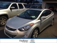 Certified Elantra Limited w/The Tech Package & Low