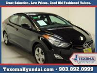 Certified Pre-Owned Elantra Blue Tooth Heated seats
