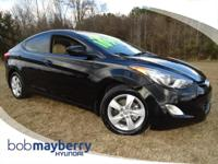 New Arrival! *This Elantra is Pre-Certified!* This 2013